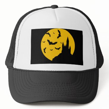 Halloween Themed bats trucker hat