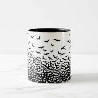 Bats Two-Tone Coffee Mug