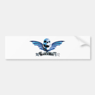 Batskull C Bumper Sticker