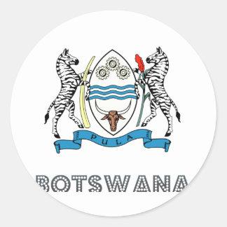 Batswanian Emblem Stickers