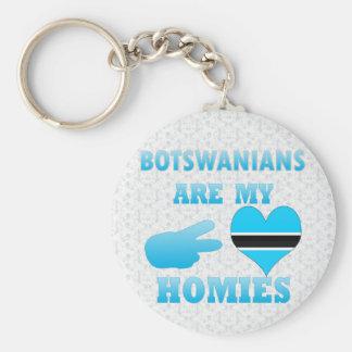 Batswanians are my Homies Keychain