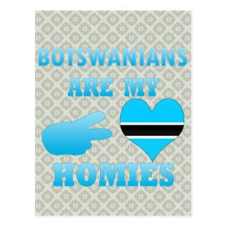 Batswanians are my Homies Postcard