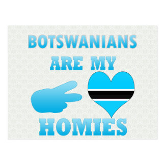 Batswanians are my Homies Postcards
