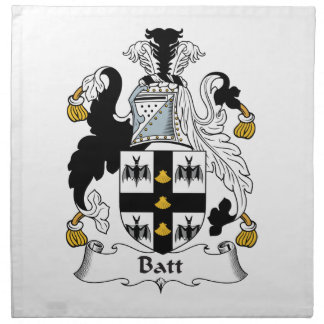 Batt Family Crest Cloth Napkin
