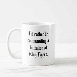 Battalion Commander - King Tiger Classic White Coffee Mug