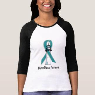 Batten Disease Awareness Lighthouse of Hope T-Shirt