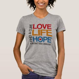 Batten disease awareness shirt - find a cure
