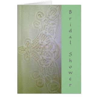 Battenburg Lace Card