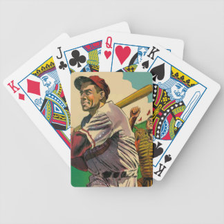 Batter Bicycle Playing Cards