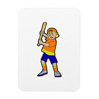 batter boy rectangular photo magnet