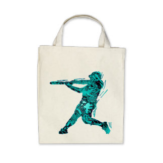 BATTER IN BLUE TOTE BAGS