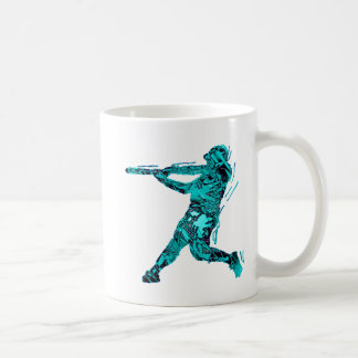 BATTER IN BLUE CLASSIC WHITE COFFEE MUG