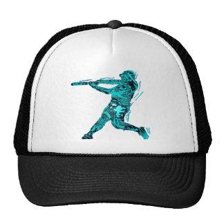 BATTER IN BLUE TRUCKER HAT