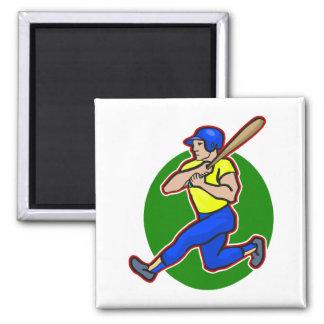 batter swing 2 inch square magnet