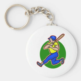 batter swing keychain