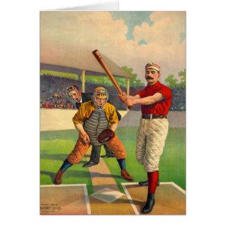 Batter Up 1895 Card