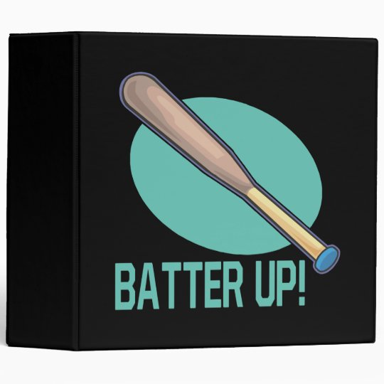 Batter Up 3 Ring Binder