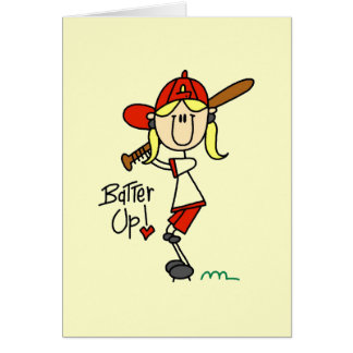 Batter Up Baseball Tshirts and Gifts Card