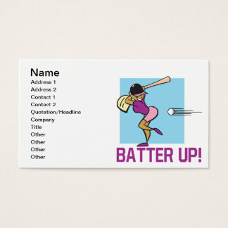 Batter Up Business Card