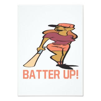 Batter Up Card