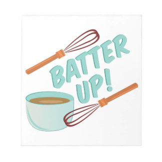 Batter Up Note Pad