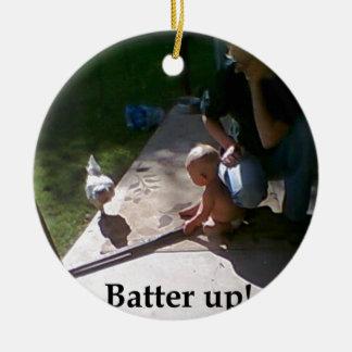 Batter up! christmas tree ornament