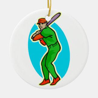 Batter up ornaments