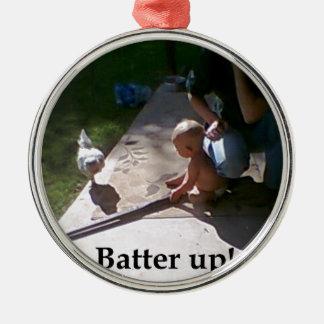 Batter up! christmas ornaments