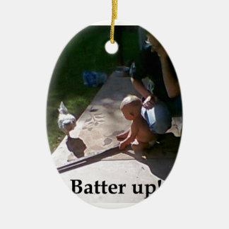Batter up! ornaments