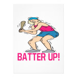Batter Up Personalized Invitation