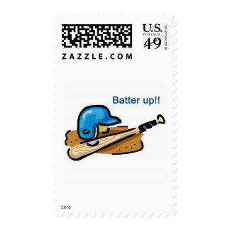 Batter Up! Stamp