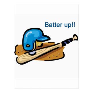 Batter Up! Postcard
