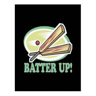 Batter Up Postcard