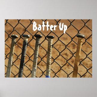 Batter Up Poster