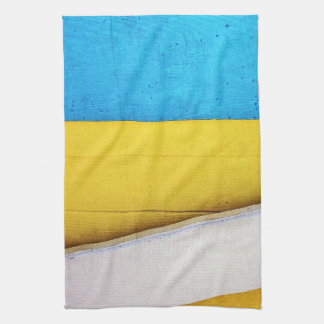 Battered Building-Minimal Abstract by STaylor Hand Towel