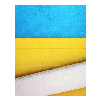 Battered Building-Minimal Abstract by STaylor Letterhead