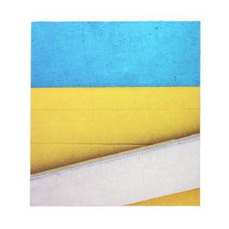 Battered Building-Minimal Abstract by STaylor Notepad