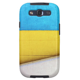 'Battered Building' Minimalistic Abstract Samsung Galaxy S3 Case