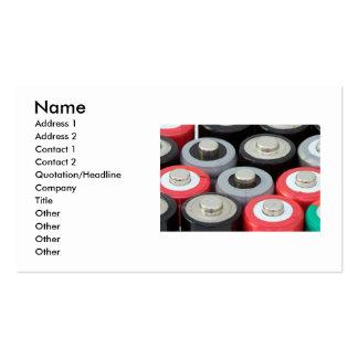 Batteries Business Card