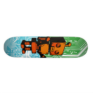 """""""Batteries Not Included"""" Skate Deck"""