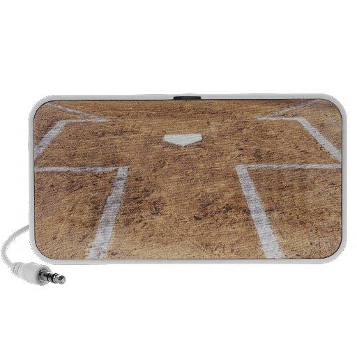 Batter's box speaker