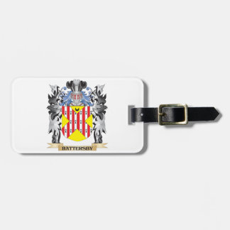 Battersby Coat of Arms - Family Crest Luggage Tag