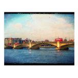 Battersea Bridge Postcard