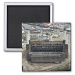 Battersea Power Station 2 Inch Square Magnet