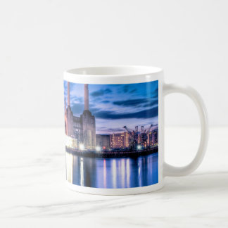 Battersea Power Station at night Coffee Mug