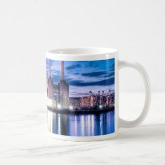Battersea Power Station at night Coffee Mug