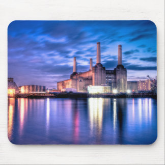 Battersea Power Station at night Mouse Pad