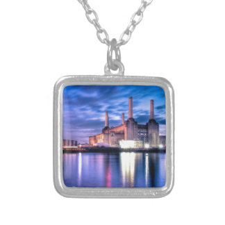 Battersea Power Station at night Custom Necklace