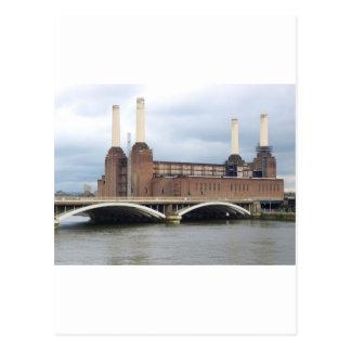 Battersea Power Station in London England UK Postcard