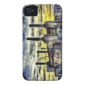 Battersea Power Station London Art iPhone 4 Case